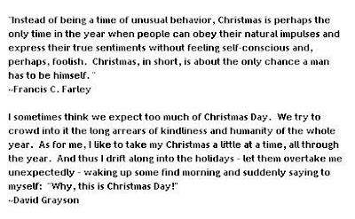 Christmas Verses, Xmas Poems & Xmas Quotes