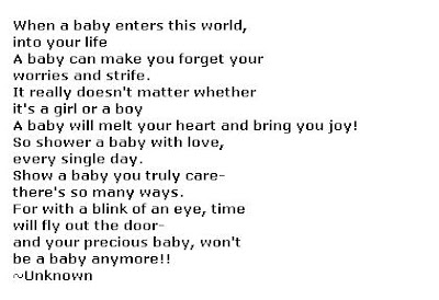 Free Baby Shower Poems