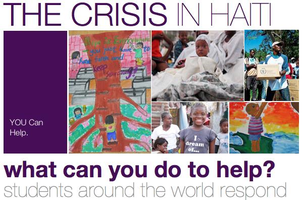 Students Helping Haiti