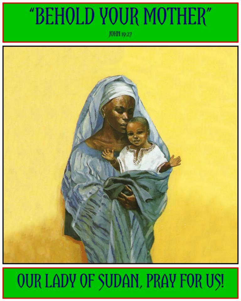 St. Josephine Bakhita of Sudan dans immagini sacre Our+Lady+of+Sudan