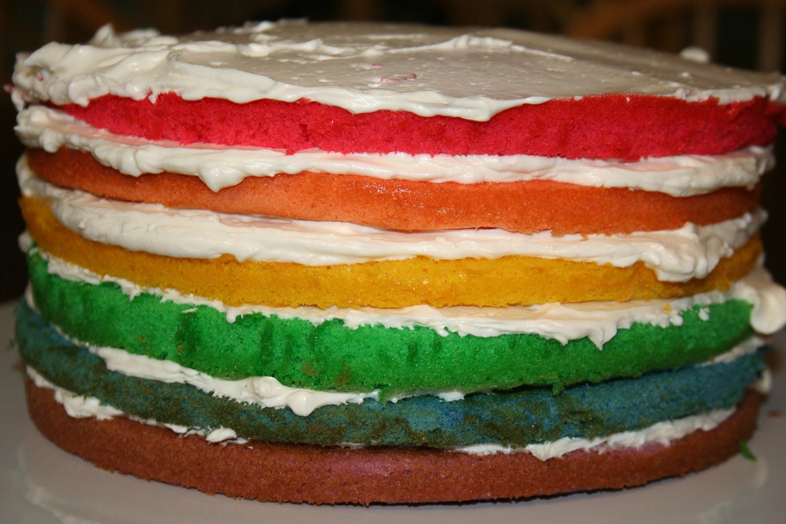 Janis Cooks: Rainbow Cake