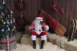 Peanut Bailey & Santa