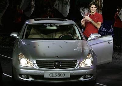 CLS 500 car - Color: Gray  // Description: cool