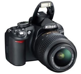 Nikon D3100 DSLR LCD Camera Photo