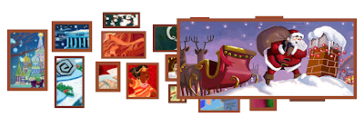 Google Corporate Logo Turns to Christmas Wallpapers