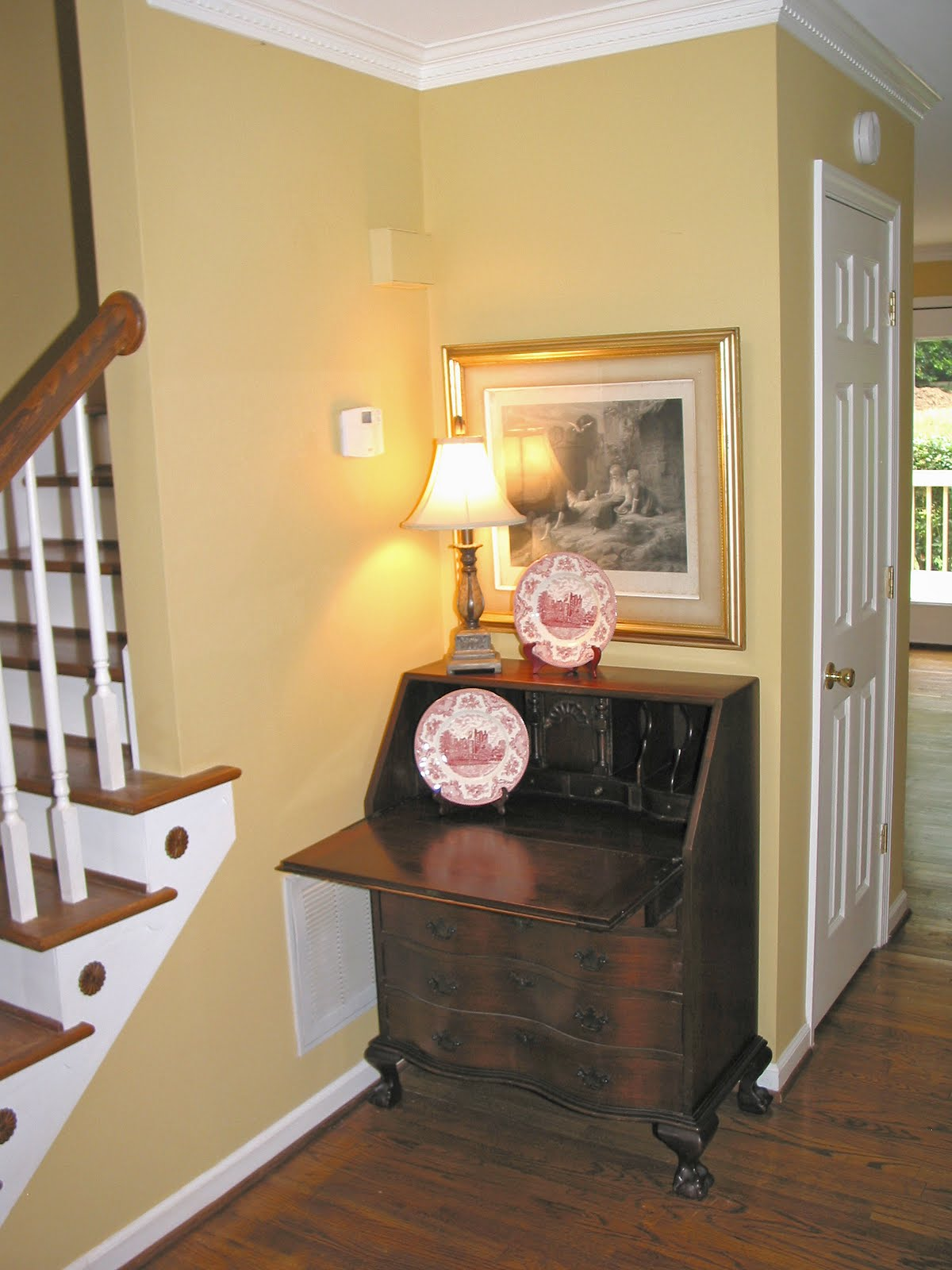goodbye house hello home blog home staging the entryway