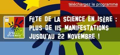 Fete de la science en Isère 2009