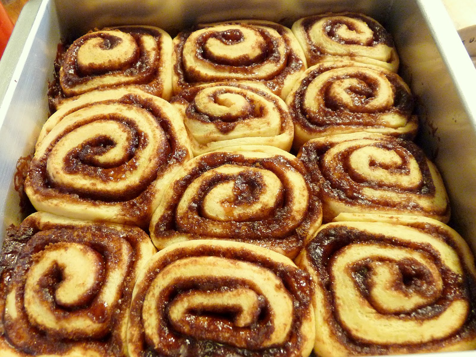 Cinnamon Swirl Buns for a Special Lady | Pomato Revival