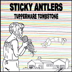 CD cover art Tupperware Tombstone