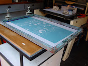 We silk screen our own shirts and art!