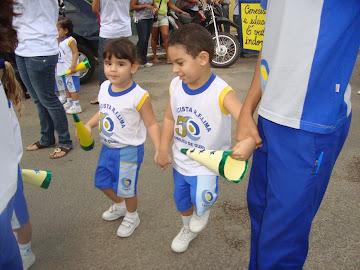 Desfile Infantil do CNEC dentro das comemorações dos 50 anos de educação