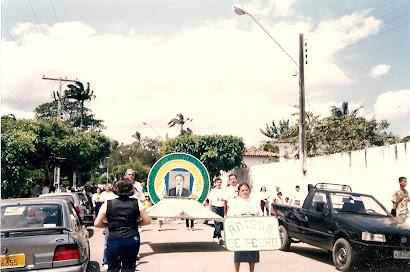 CNEC Timbauba - Desfile em homenagem ao Prof. Pedro Crescêncio