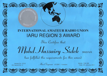 AMATEUR RADIO AWARD