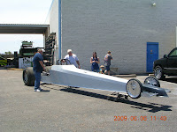 Tom Yancer Race Cars Bryan Bruhn S New Dragster