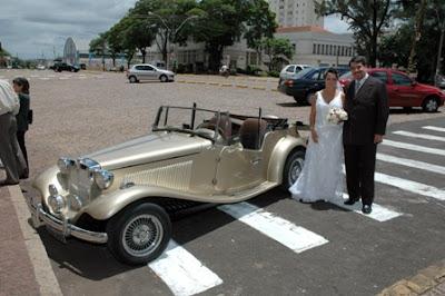 O casal Flávio & Márcia