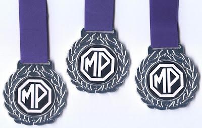 Medalhas: frente