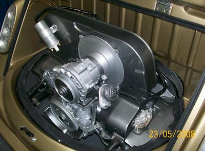 Motor do MP Lafer