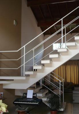 Escada aparente