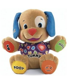 ... Learning Puppy: This pup has two interactive modes, learning and games.