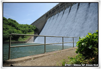 大潭篤水壩(Tai Tam Tuk Dam)