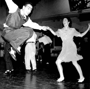 swing music sweep the dance floors in america The show was made to teach teenagers in america the swing and other dance styles that they were missing out on over time the music began to evolve into rock n' roll.