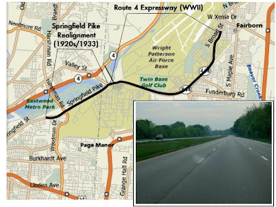 This New Route 4 Expressway Helped With Reverse Commuting From Dayton To The Patterson Field Part Of The Base