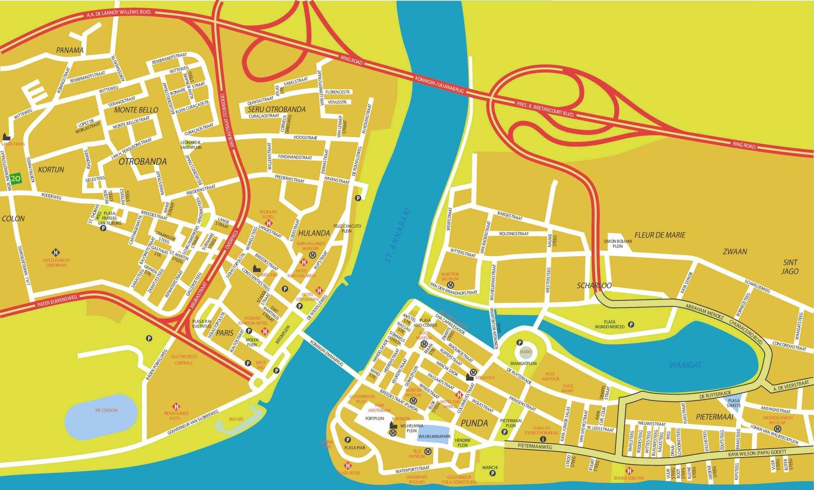 Portinfo: Willemstad/Curacao - Kleine Antillen - Karibik A ...