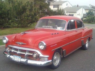 1950 to 1959 classic chevrolet cars and trucks custom for 1953 chevrolet belair 4 door sedan