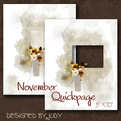 Preview November Quickpage -click to enlarge