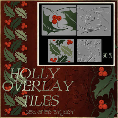 Preview Holly Overlay Tiles --click to enlarge