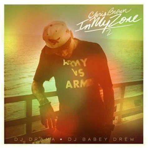 "Chris Brown ""In My Zone 2″ Mixtape Album Cover"