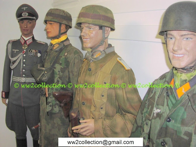 German Paratrooper WW2 Fallschirmjäger, Uniformed Mannequins