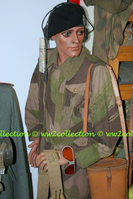 Tank crew Coverall, Camouflage one piece suit England WW2