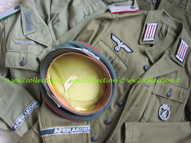 Afrikakorps DAK Uniforms Details