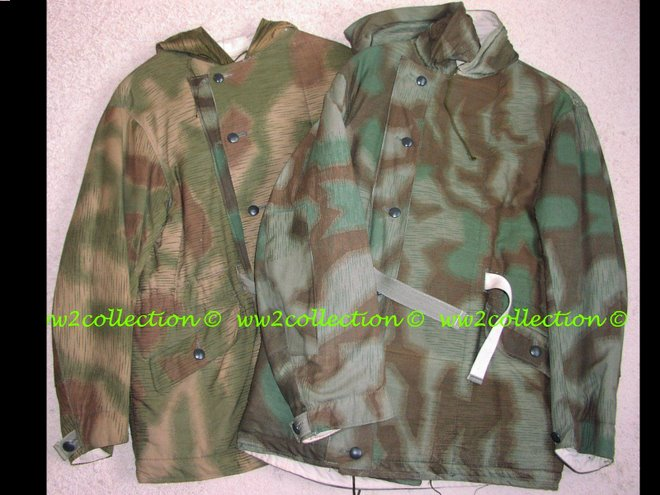 Ostfront WW2 Army Heer and Luftwaffe winter combat jackets