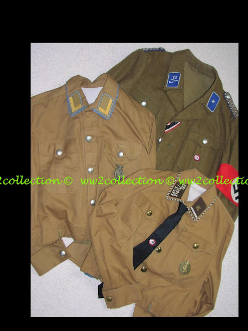 SA brown shirt Braunhemd, SA four pocket Tunic, NSDAP shirt Blockleiter