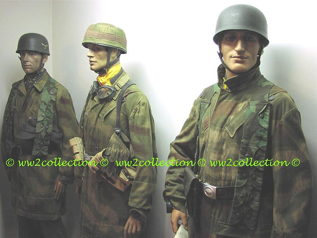 German Uniforms & Head Gear WW2 Fallschirmjäger Paratrooper