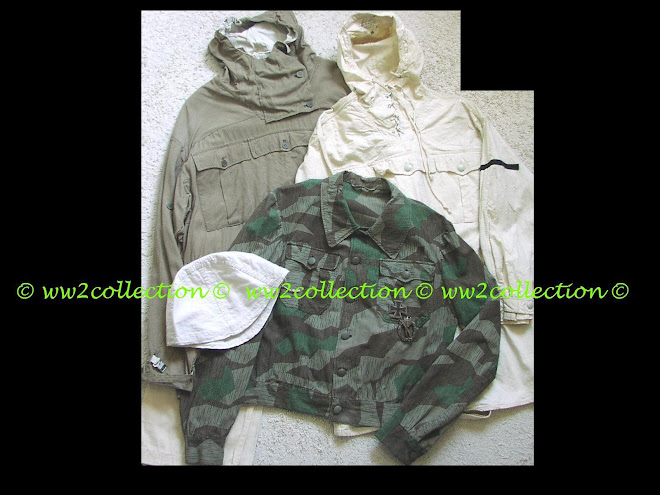 WW2 German Army Splinter camo M44 Tunic, Ski-Jäger Snow Suit, Gebirgsjager Anorak