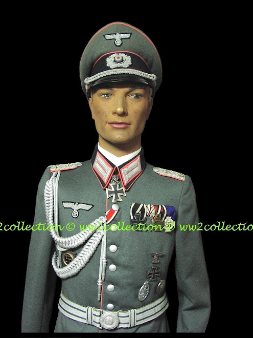 WW2 German Panzer Troops Officers Uniform, Waffenrock