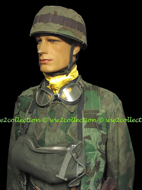 Helmet Cover WW2 Fallschirmjager Splinter camo and camo Jump Smock