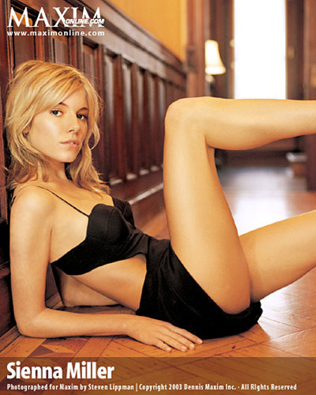 Maxim Girl Sienna Miller Exclusive Stills Gallery Pictures