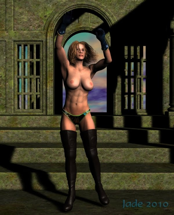 female erotic fantasy 3D art 01 vintage xxx