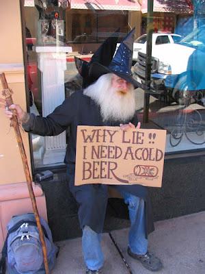 Drunk Gandalf