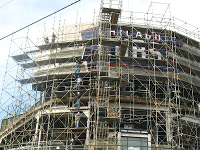 Wrigley Field Scoreboard Renovations 25