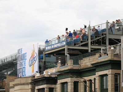 Wrigley Field Rooftops 1