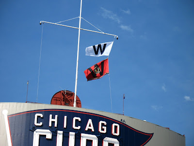 wrigley field w flags