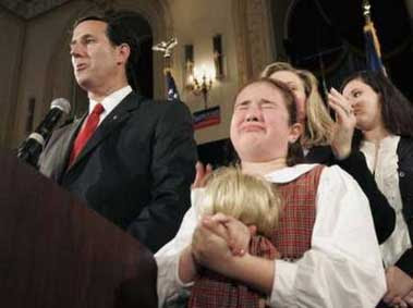Thrifty Rittenhouse: Rick Santorum's daughter: The New Face of ...