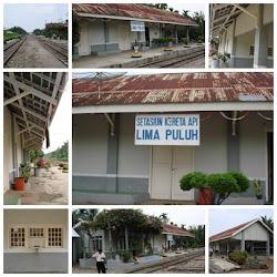 Stasiun KA Lima Puluh