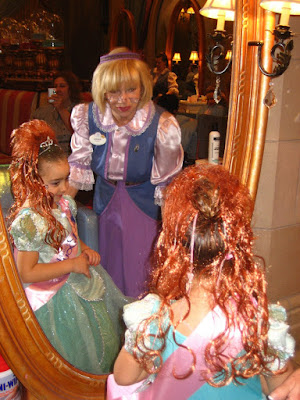 My princess loves the Bibbidi Bobbidi Boutique and I love that by following