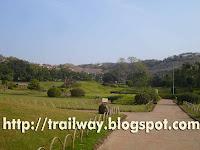 Parvati hills huts behind Pu La Deshpande park